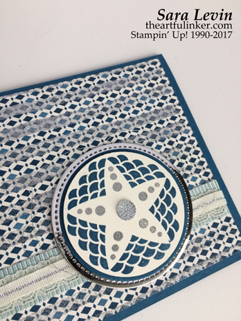 Sara Levin | theartfulinker.com Click the picture for more of Sara's desings. Eastern Beauty with Sheer Embossing card - detail. Handmade cards, rubberstamps, cardmaking, papercraft, stampinup, saralevin, theartfulinker