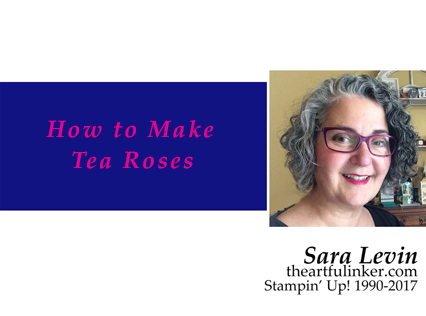 How to Make Tea Roses Video