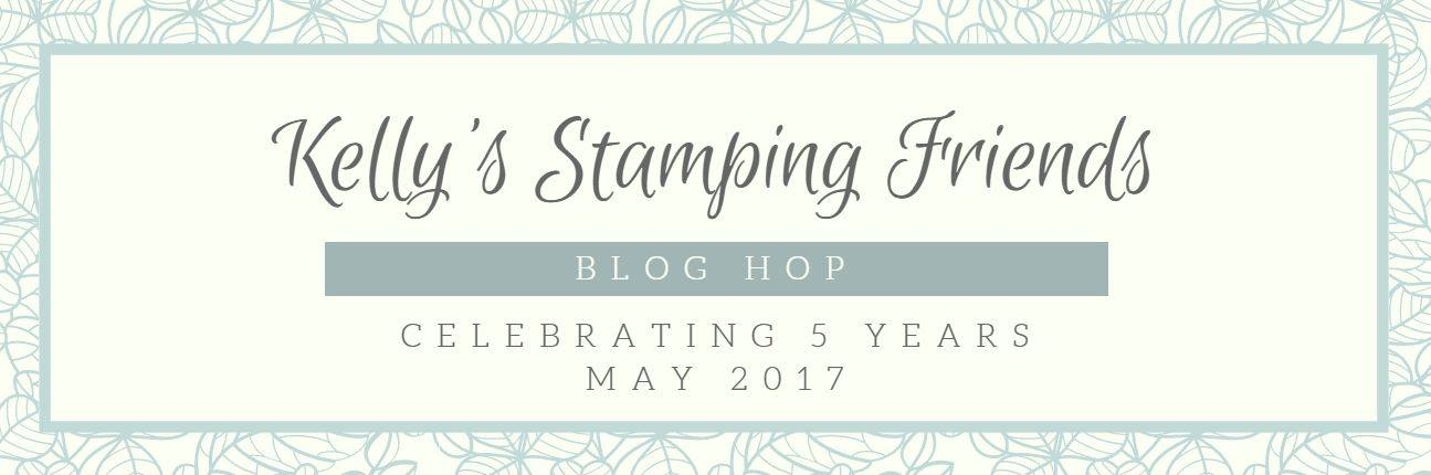 Kelly's Stamping Friends Blog Hop Banner