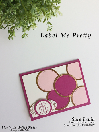 Label Me Pretty for GDP088 from theartfulinker.com