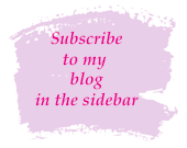 Subscribe for blog updates via email from theartfulinker.com, in the sidebar