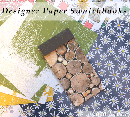 Designer Paper Swatchbooks - Stampin' Up! Annual Catalog - theartfulinker.com