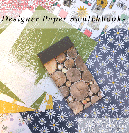 Designer Paper Swatchbooks - Stampin' Up! Annual Catalog - theartfulinker.com