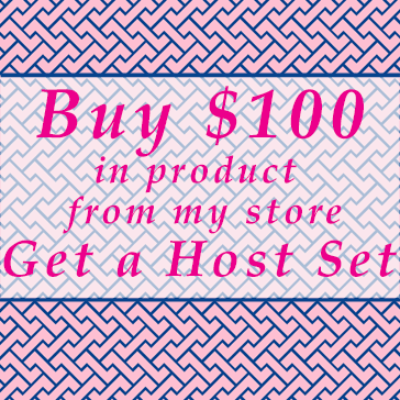 Buy $100 in product from www.theartfulinker.stampinup.net and get a Free Host Set