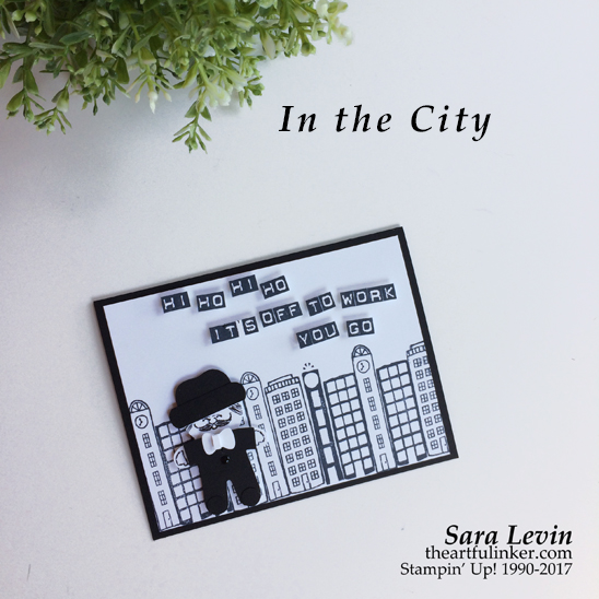 Cookie Cutter Christmas in the City congratulations on your job card from theartfulinker.com
