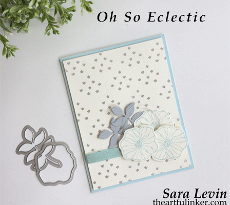 Oh So Eclectic in Soft Sky card from theartfulinker.com