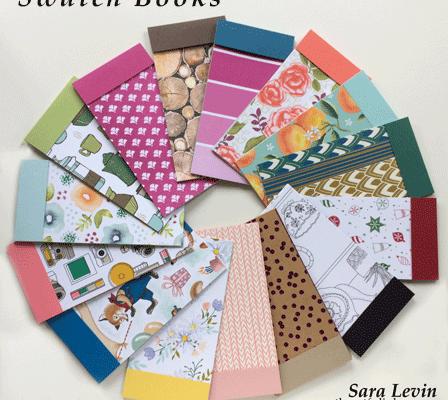 Annual Catalog Designer Paper Swatchbooks from theartfulinker.com