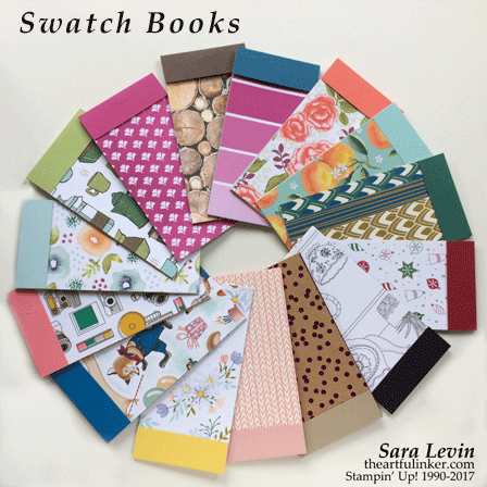 Annual Catalog Designer Paper Swatchbooks from theartfulinker.com