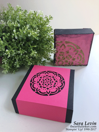 Mixed Media and Eastern Medallions Gift Box