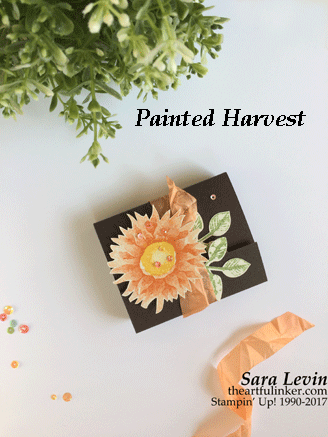 Painted Harvest Cookie Layer Crunch Holder from theartfulinker.com