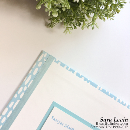 Personalized Memories and More for Sawyer from theartfulinker.com