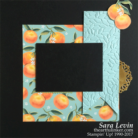 Whole Lot of Lovely scrapbook page 2 from theartfulinker.com