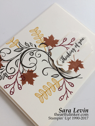 International Blog Highlights Sympathy card from theartfulinker.com
