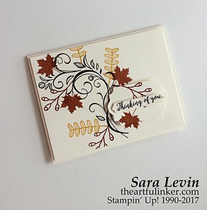 International Blog Highlights Sympathy card from theartfulinker.com