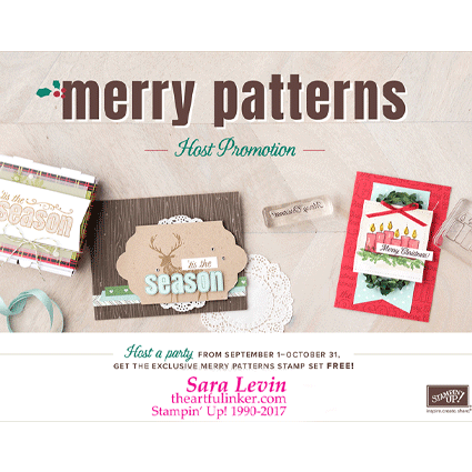 Merry Patterns free stamp set offer from theartfulinker.com