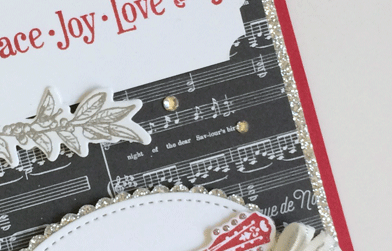 Musical Season with Merry Music card for Creation Station from theartfulinker.com