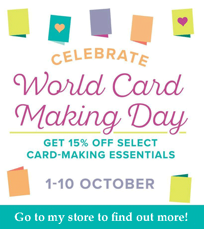 World Card Making Day promotion from theartfulinker.com go to http://bit.ly/ShopwithSara