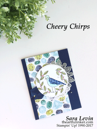 Cheery Chirps with Stampin' Blends