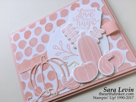 Pick a Pumpkin for the Pink Blog Hop 2017 from theartfulinker.com
