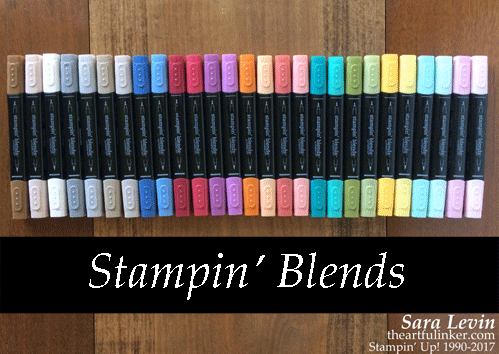 Stampin' Blends Club from theartfulinker.com