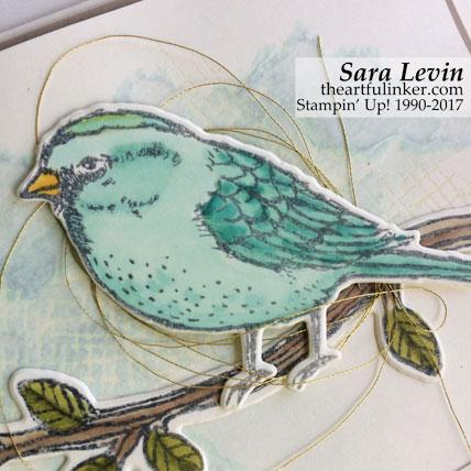 Best Birds OnStage swap card - bird detail - from theartfulinker.com