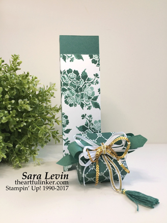 Fresh Florals gift box - open - from theartfulinker.com
