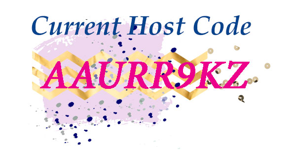 Host Code AAURR9KZ shop here http://bit.ly/ShopwithSara
