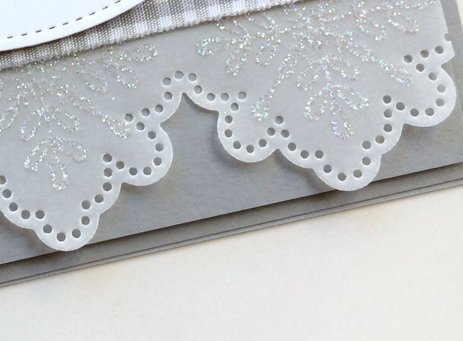 Stamping Sunday Blog Hop Snowflake Sentiments from theartfulinker.com