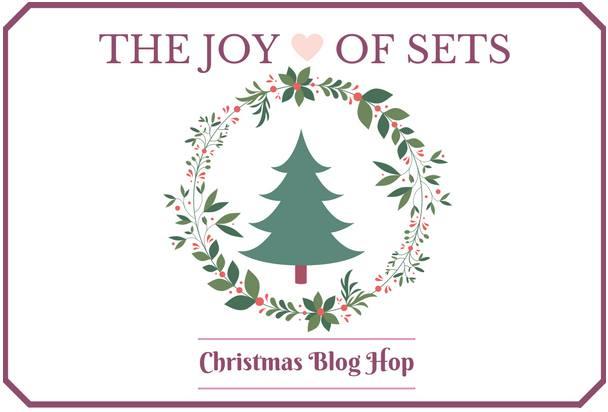 Joy of Sets Christmas Blog Hop header from theartfulinker.com