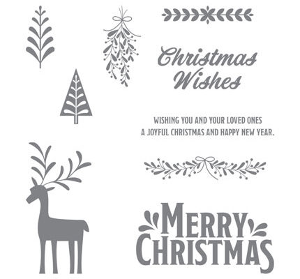 Merry Mistletoe stamp set order from http://bit.ly/ShopwithSara