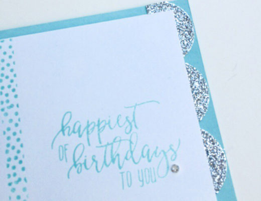 Stamping Sunday Blog Hop Picture Perfect Birthday from theartfulinker.com