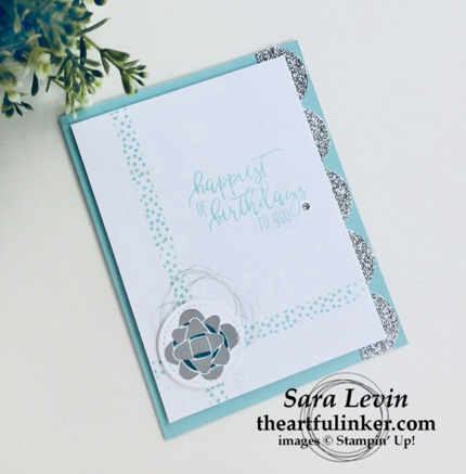 Stamping Sunday Blog Hop Picture Perfect Birthday card from theartfulinker.com