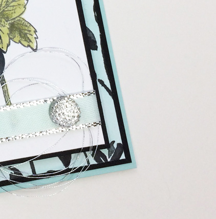 Floral Statements with Petal Passion card from theartfulinker.com