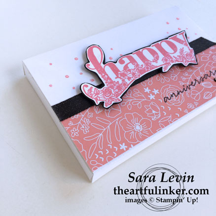 OSAT blog hop Sale a Brate the Occasion Happy Wishes Lots to Love box - angled view - from theartfulinker.com