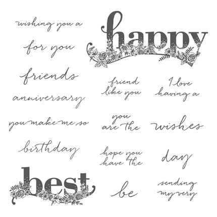 OSAT Blog Hop Sale A Brate the Occasion using the free Happy Wishes Stamp set