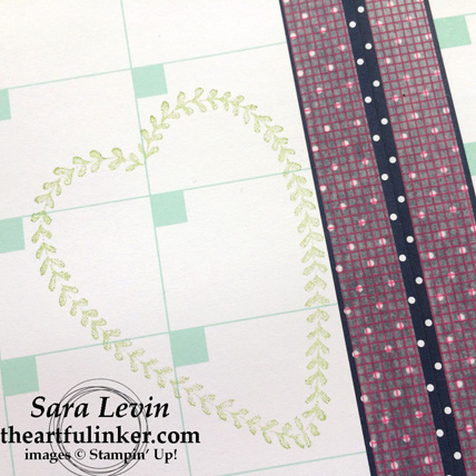 Love Today Planer February 2018 calendar layout using Sure Do Love You - from theartfulinker.com