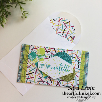 Picture Perfect Birthday Gift Card Holder and envelope from theartfulinkekr.com