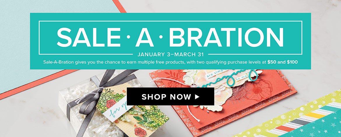 Sale a Bration = FREE products with a minimum purchase from theartfulinker.com