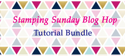 Stamping Sunday January Tutorial Bundle from theartfulinker.com