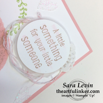 Sweet Little Something with Sure Do Love You - sentiment - from theartfulinker.com