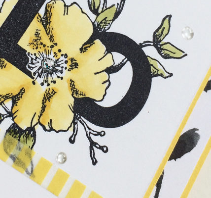 Floral Statements in Daffodil Delight from theartfulinker.com