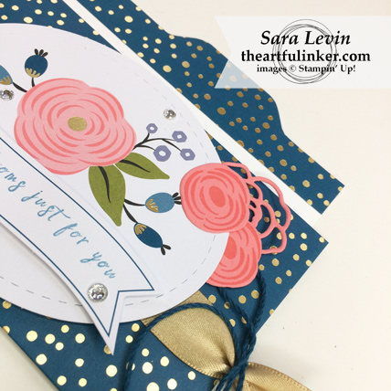 Stamping Sunday Blog Hop Lots of Happy Birthday Perennial Birthday Kit alternative card 1 detail 1 - from theartfulinker.com