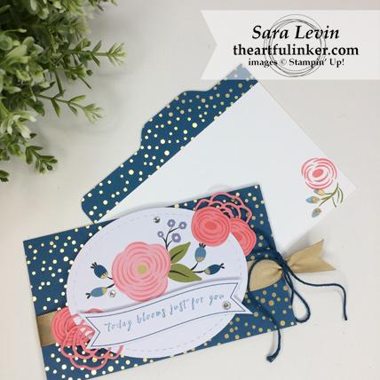 Stamping Sunday Blog Hop Lots of Happy Birthday Perennial Birthday Kit alternative card 1 inside detail - rom theartfulinker.com