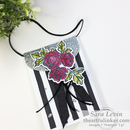 Stamping Sunday Blog Hop Petal Passion - Petal Palette Lots to Love Box purse from theartfulinker.com