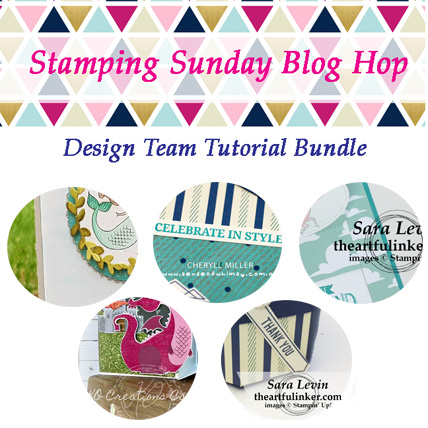 Stamping Sunday March Tutorial Bundle from theartfulinker.com
