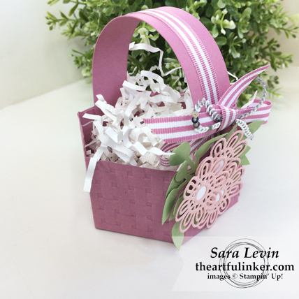Window Box Easter Basket - angled view - from theartfulinker.com