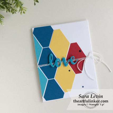 Autism Awareness Day Blog Hop 2018 Tailored Tag Punch card from theartfulinker.com