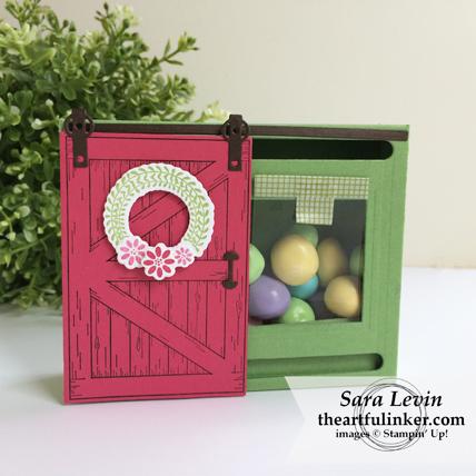 Barn Door Treat Box