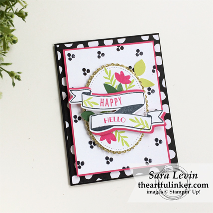 Creation Station Blog Hop Garden Party Banners for You card from theartfulinker.com