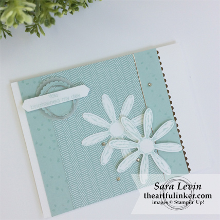 Daisy Delight just because card from theartfulinker.com